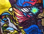 """Iowa City Mural titled """"Move"""". With Tony Carter and Zech Ward 2010"""