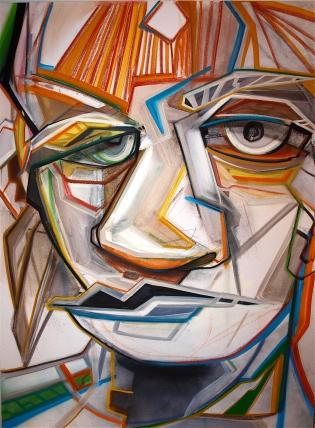 de Kooning y Yo 3'x4' Mixed Media canvas (2012)
